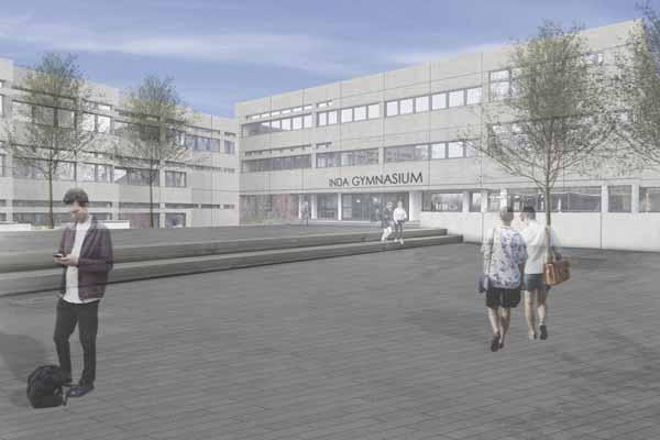 VgV-Zuschlag für die Sanierung des Inda-Gymnasiums in Aachen