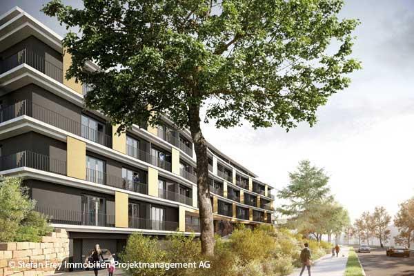 Baubeginn für 115 Studentenappartements  an der Nizzaallee