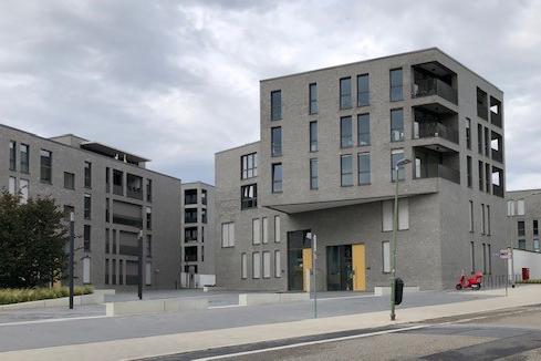 Wohnquartier Henri-Dunant-Straße Essen kurz vor Fertigstellung